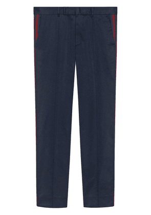 Gucci 60s pant with Web - Blue