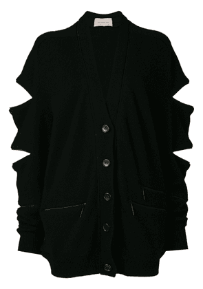 Christopher Kane zip cardigan - Black
