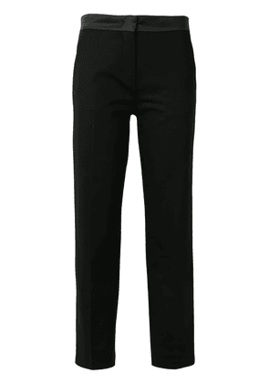 Moncler cropped tailored trousers - Black