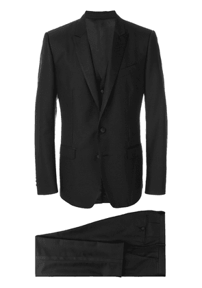 Dolce & Gabbana three piece suit - Black