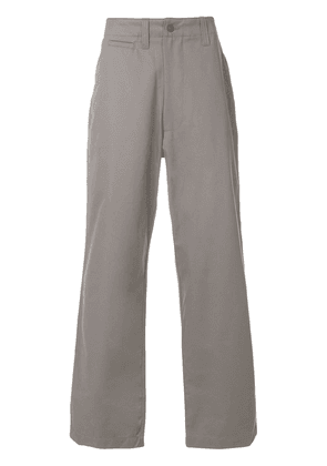 E. Tautz Field wide leg trousers - Grey
