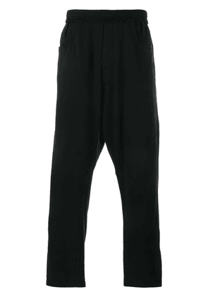 Haider Ackermann cropped track pants - Black