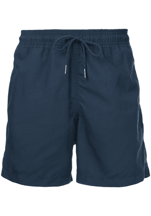 Venroy rear pocket swim short - Blue