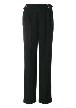 Tom Ford buckle detail trousers - Black
