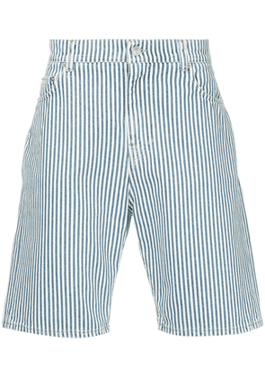 Cerruti 1881 striped style shorts - White