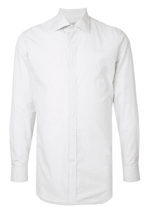 Gieves & Hawkes check fitted shirt - Multicolour