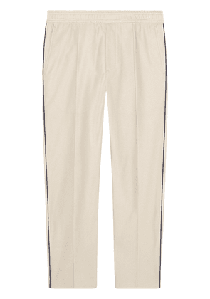Gucci Cotton piquet jogging pant - Neutrals