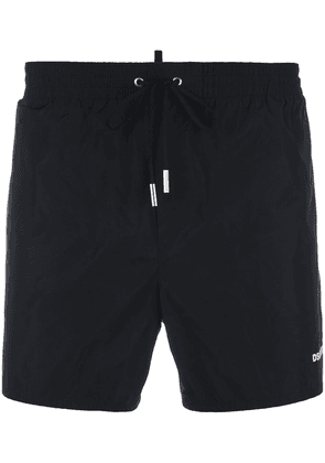 Dsquared2 logo print swim shorts - Black