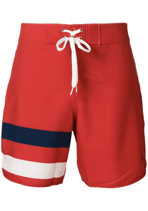 Perfect Moment Super Mojo drawstring swim shorts - Red