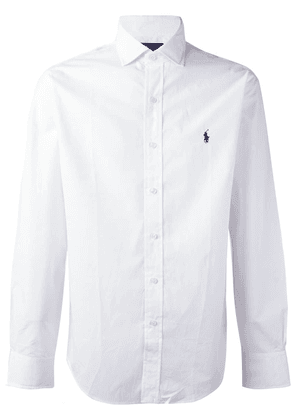 Polo Ralph Lauren embroidered logo shirt - White