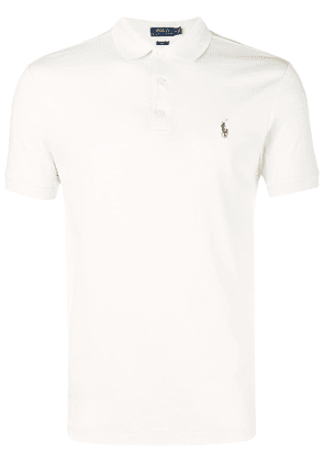 Polo Ralph Lauren logo polo shirt - Neutrals