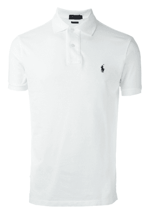 Polo Ralph Lauren embroidered logo polo shirt - White