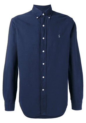 Polo Ralph Lauren embroidered logo button-down shirt - Blue