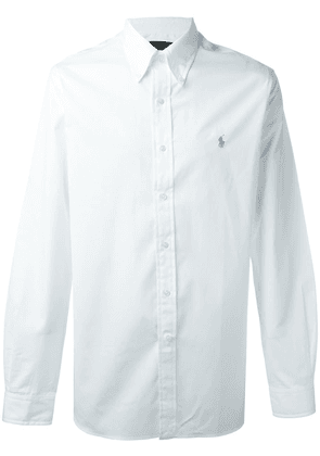 Polo Ralph Lauren button down colour shirt - White