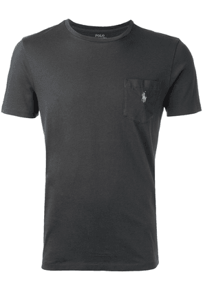 Polo Ralph Lauren logo pocket T-shirt - Grey