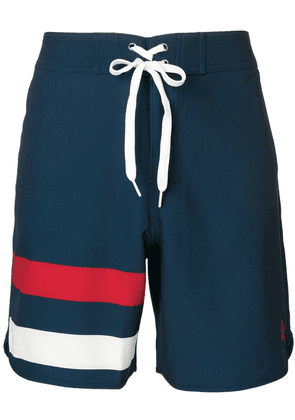 Perfect Moment Super Mojo drawstring swim shorts - Blue