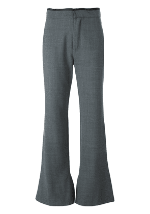 Erika Cavallini 'Olive' flared trousers - Grey