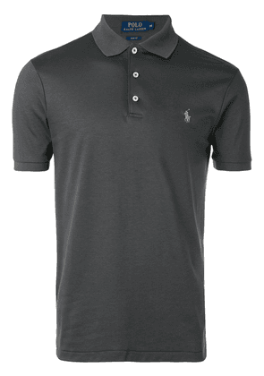 Polo Ralph Lauren embroidered logo polo shirt - Grey