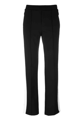 Moncler piped seam track pants - Black