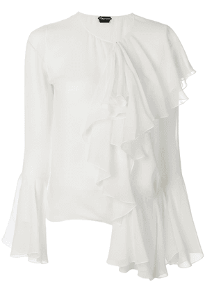 Tom Ford ruffle blouse - White