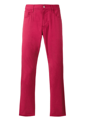 Armani Jeans regular fit jeans - Red