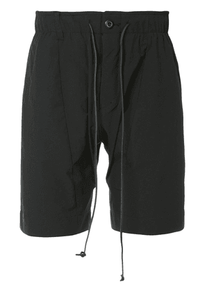 Attachment 2way stretch shorts - Black