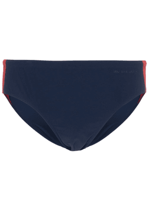 Orlebar Brown Dachshund stripe swim briefs - Blue
