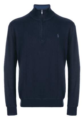 Polo Ralph Lauren zip turtleneck sweater - Blue