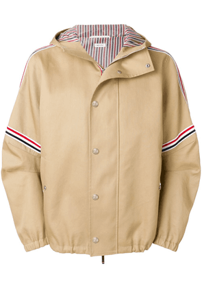 Thom Browne Oversized Mackintosh Jacket - Neutrals
