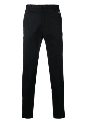 Dolce & Gabbana crown detail tailored trousers - Black