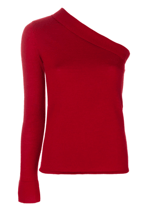Cashmere In Love cashmere asymmetric top - Red
