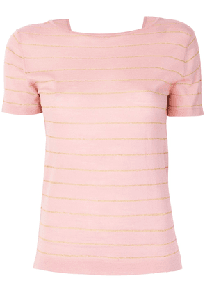 Cashmere In Love cashmere Carly lurex knitted top - Pink