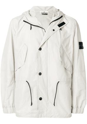 Stone Island Micro Reps hooded jacket - Neutrals