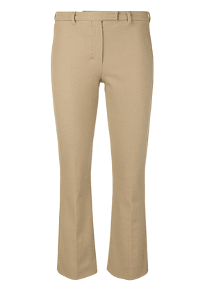 'S Max Mara cropped tailored trousers - Brown