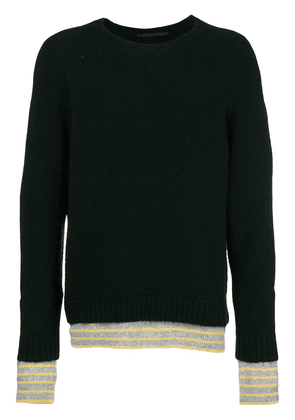Haider Ackermann double knit sweater - Black