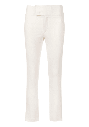 Isabel Marant Ovida cropped trousers - White