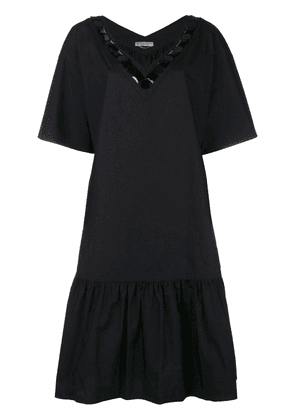 Bottega Veneta drop-waist shift dress - Black