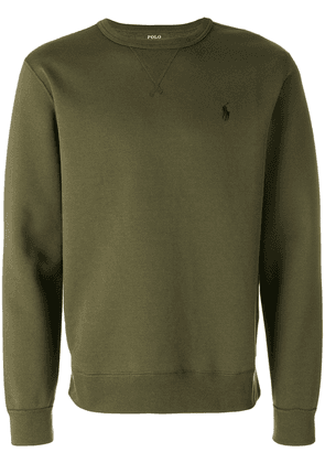 Polo Ralph Lauren logo embroidery sweatshirt - Green