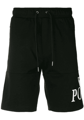 Polo Ralph Lauren logo print shorts - Black