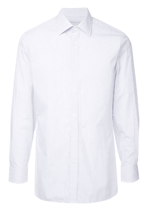 Gieves & Hawkes checked shirt - Pink