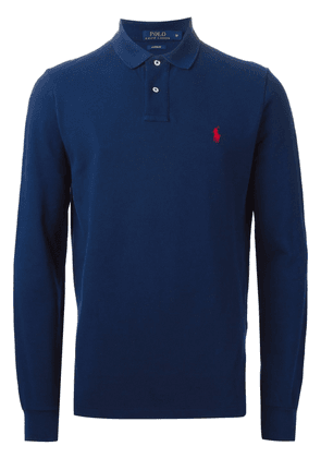 Polo Ralph Lauren long sleeve polo shirt - Blue