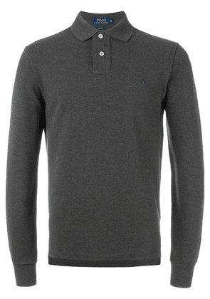 Polo Ralph Lauren long sleeved polo shirt - Grey