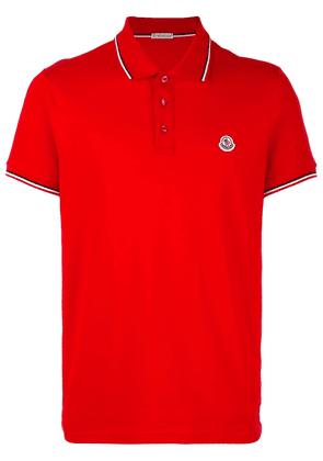 Moncler short sleeve polo shirt - Red