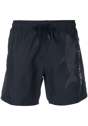 Paul & Shark shark logo shorts - Blue
