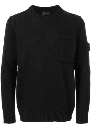 Stone Island fitted sweater - Black
