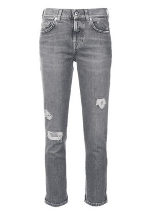 7 For All Mankind distressed jeans - Grey