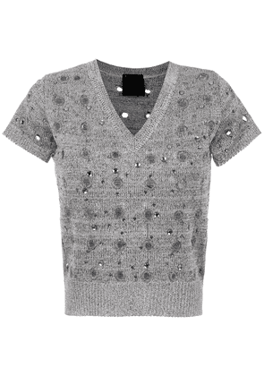 Andrea Bogosian knitted top - Grey
