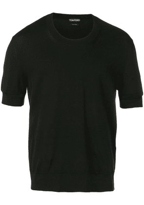 Tom Ford knitted T-shirt - Black