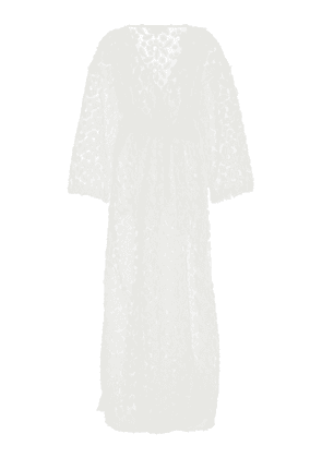 Onia Meika Floral Embroidered Coverup Robe