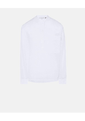 Stella McCartney White White Half-Placket Shirt, Men's, Size XS